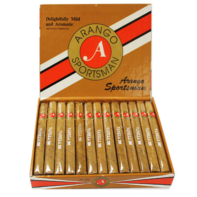 Arango Sportsman #300 Maduro 25ct Box