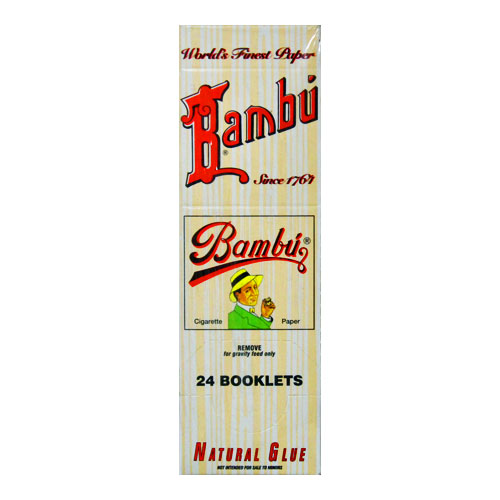 Bambu Classic Rolling Papers Original 24ct Box