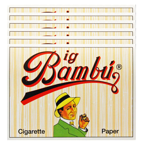 Big Bambu Classic Rolling Papers 6 Pack