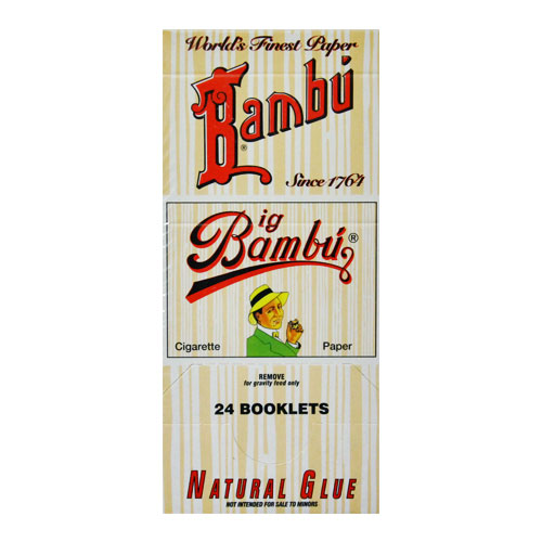 Big Bambu Classic Rolling Papers 24ct Box