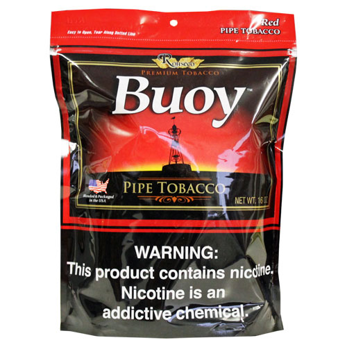 Buoy Red Premium Pipe Tobacco 16oz Bag