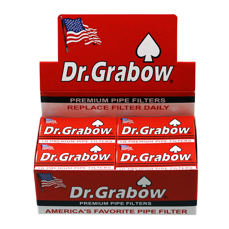 Dr Grabow Pipe Filters Premium 12 Pack