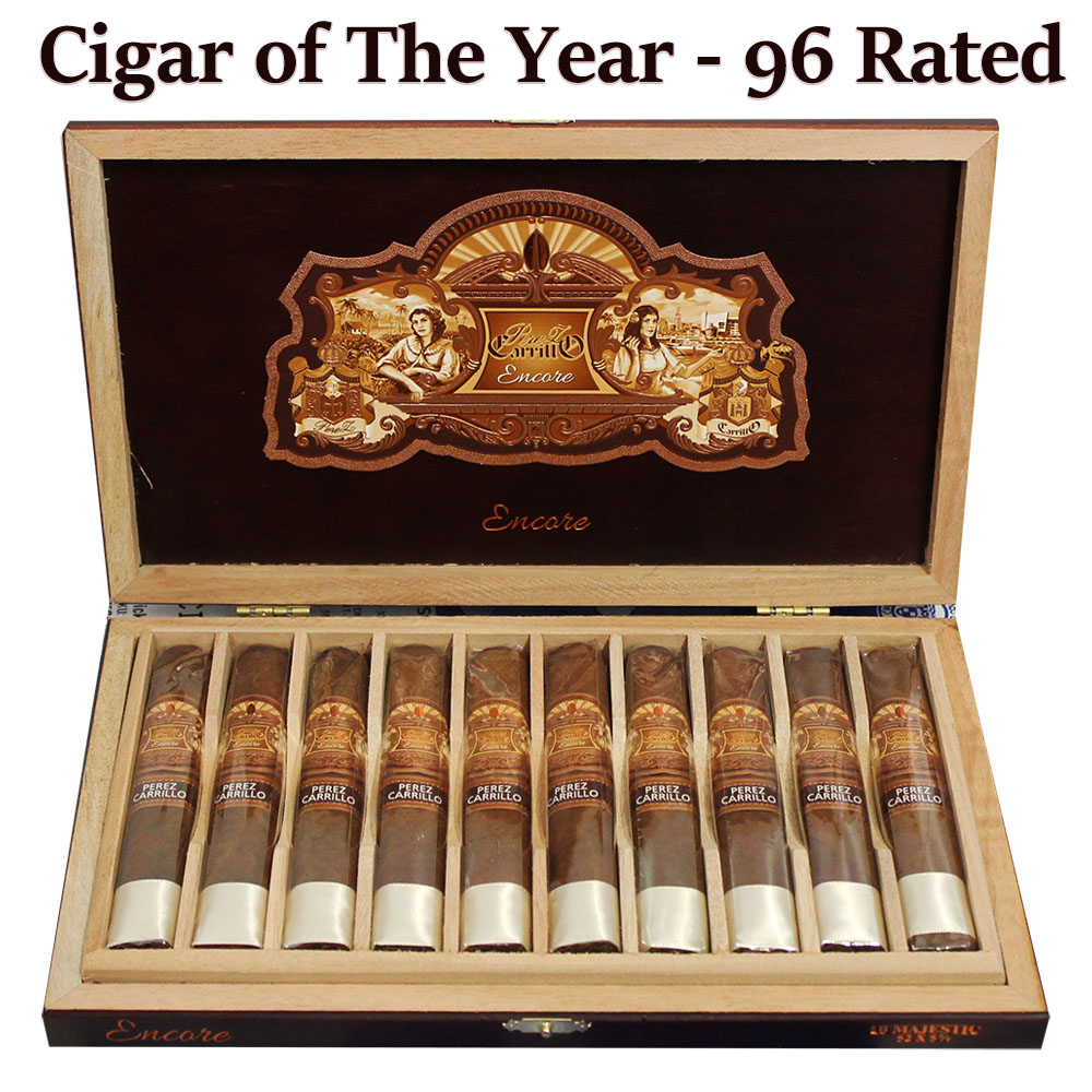 E.P. Carrillo Encore Majestic Cigars 10ct Box