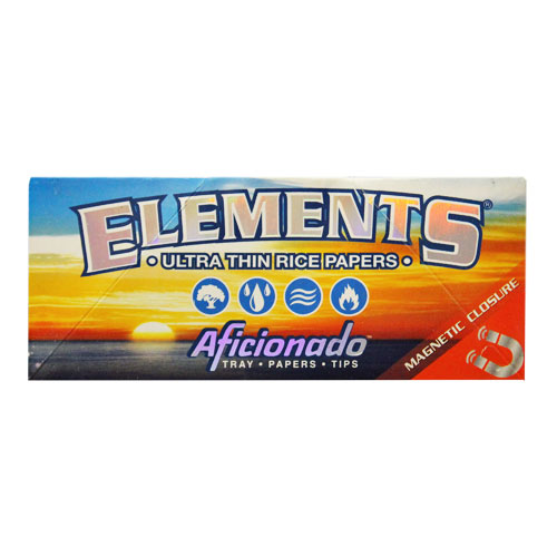 Elements Slim King Aficionado Rolling Papers Single Pack