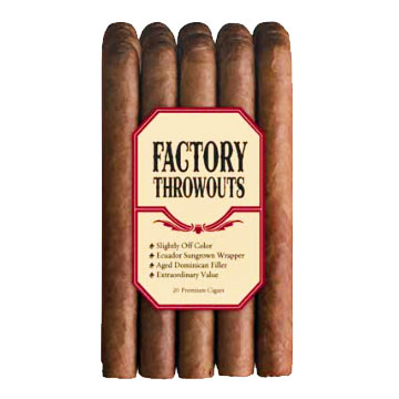Factory Throwouts #49 Natural 20ct Cigar Bundle