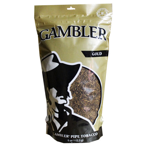 Gambler Gold Pipe Tobacco 6oz