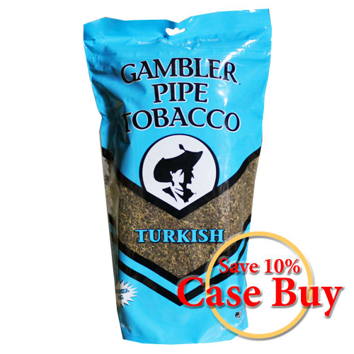 Gambler Turkish Pipe Tobacco 16oz - 12ct Case