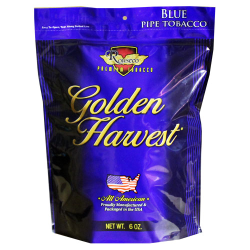 Golden Harvest Blue Pipe Tobacco 6oz