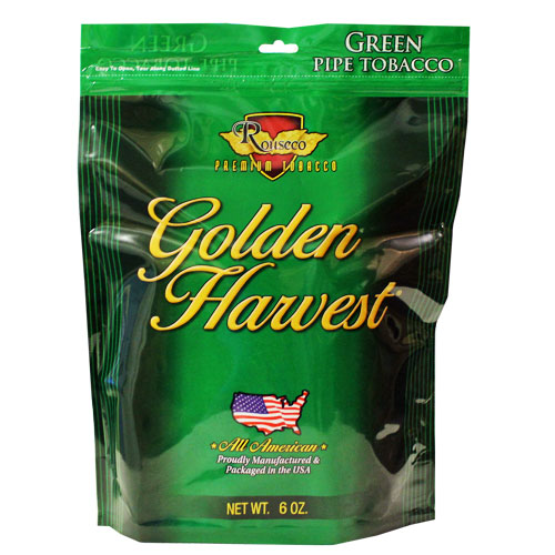 Golden Harvest Green Pipe Tobacco 6oz