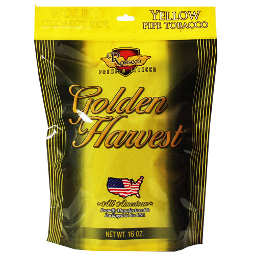 Golden Harvest Yellow Pipe Tobacco 16oz