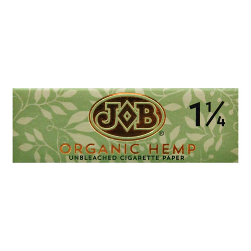 JOB Organic Hemp 1 1/4 Size Rolling Papers Single Pack
