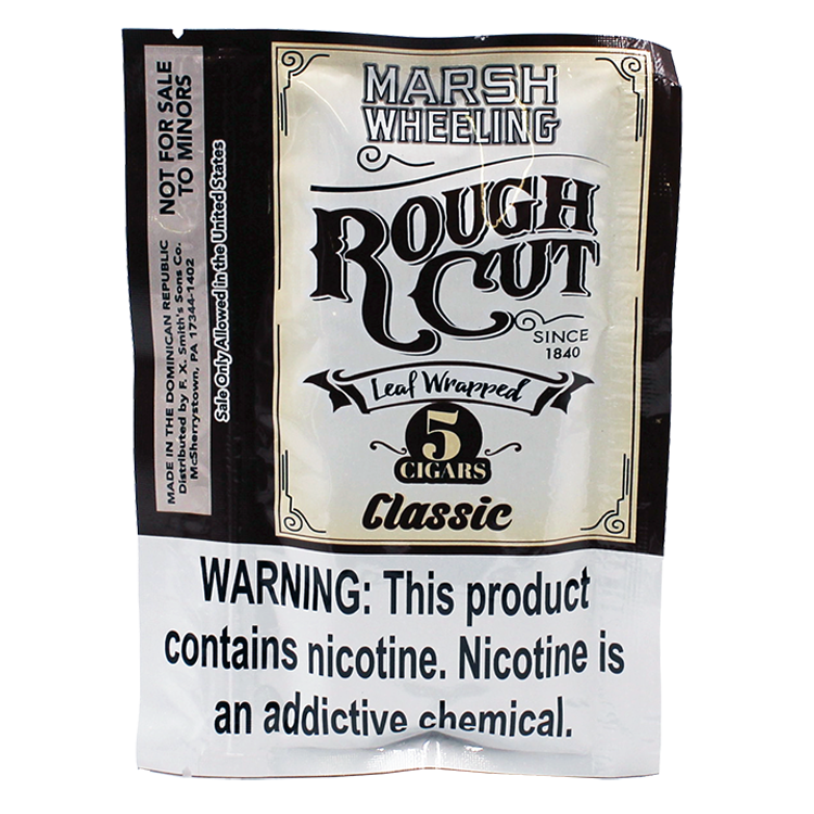 Marsh Wheeling Rough Cut Classic Cigars 5 Pack