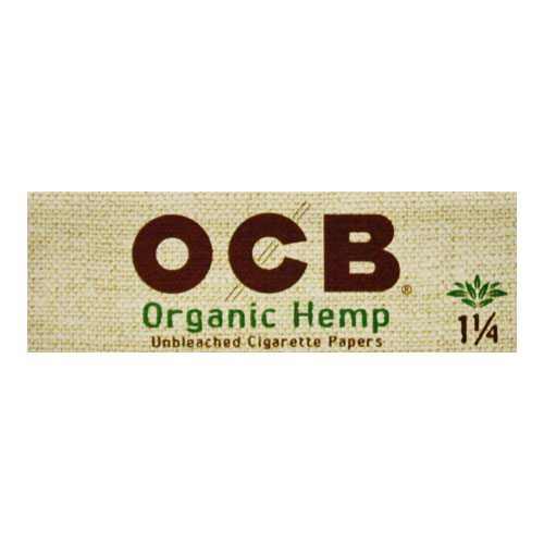 OCB Organic Hemp 1 1/4 Rolling Papers Single Pack