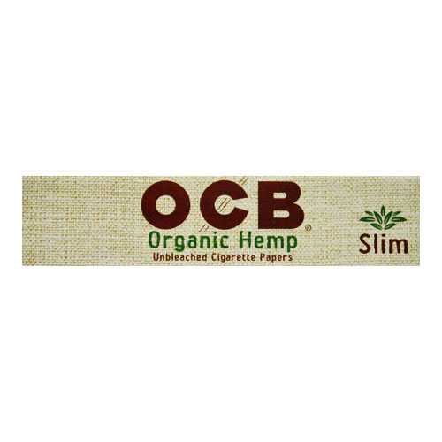 OCB Organic Hemp Slim King Rolling Papers Single Pack
