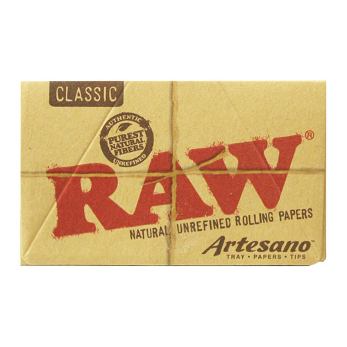 RAW 1 1/4 Size Artesano Natural Rolling Papers Single Pack