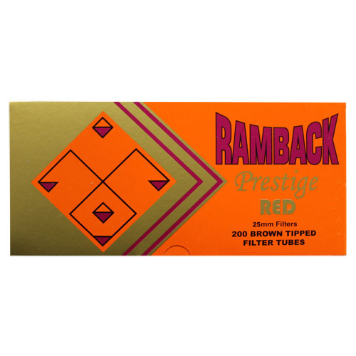 Ramback Prestige Gold 100mm Size Cigarette Filter Tubes 200ct