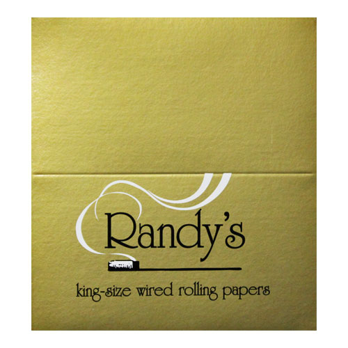 Randy's Wired Classic Gold King Size Rolling Papers 25ct Box