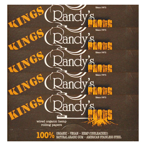 Randy's Wired Roots King Size Rolling Papers 5 Pack