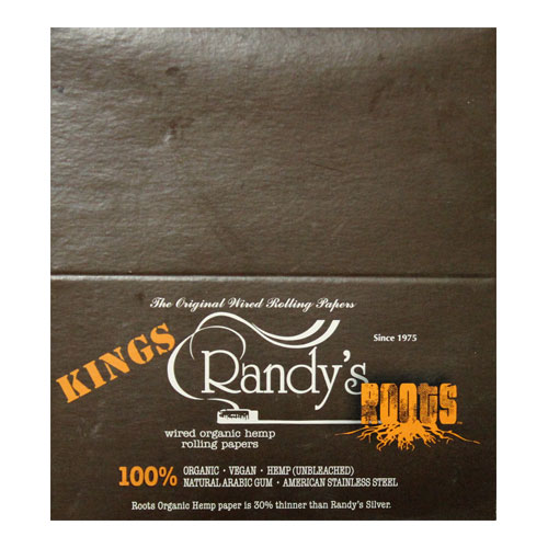 Randy's Wired Roots King Size Rolling Papers 25ct Box