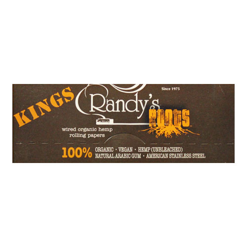 Randy's Wired Roots King Size Rolling Papers Single Pack