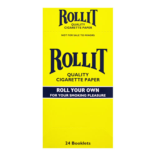 Rollit Single Wide Rolling Papers 24ct Box