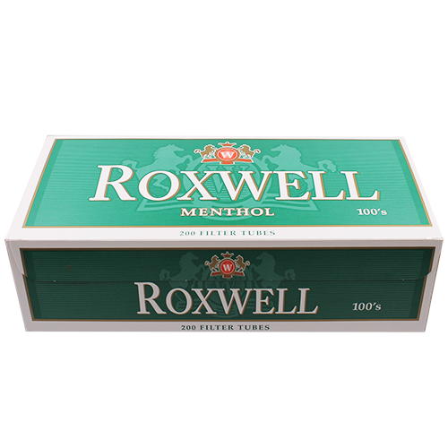 Roxwell Green 100mm Filter Tubes 200ct