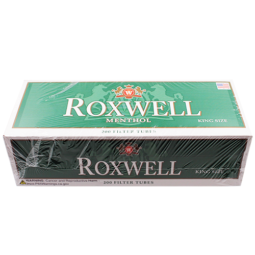 Roxwell Green King Size Filter Tubes 200ct
