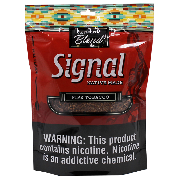 Signal Native Made Full Flavor Pipe Tobacco 16oz