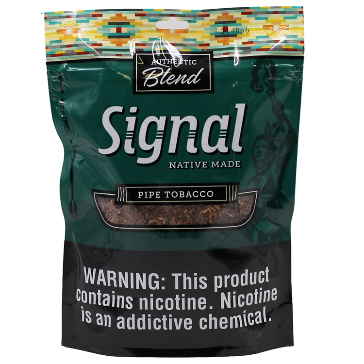 Signal Native Made Menthol Pipe Tobacco 16oz