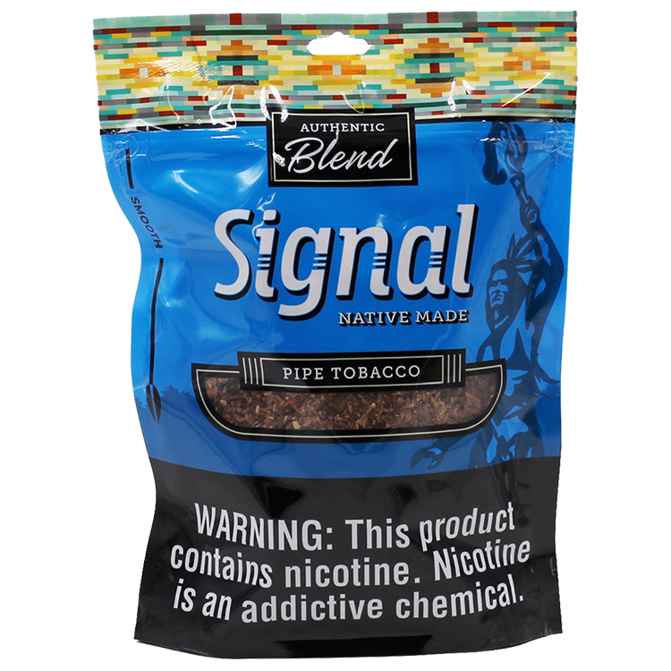 Signal Native Made Smooth Pipe Tobacco 16oz