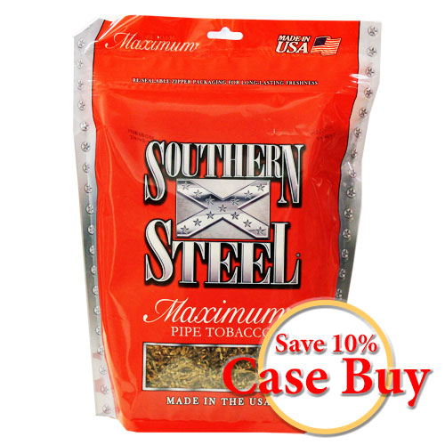 Southern Steel Maximum Pipe Tobacco 16oz - 12ct Case