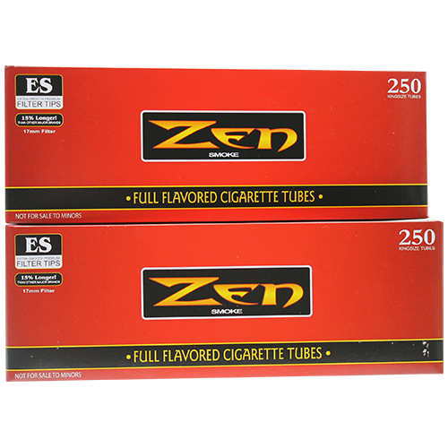 Zen Full Flavored King Size Cigarette Tubes 250ct