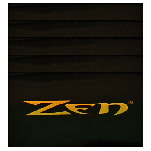 Zen Black Single Wide Rolling Papers 5 Pack