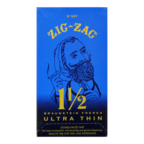 Zig Zag Ultra Thin 1 1/2 Size Rolling Papers 24ct Box