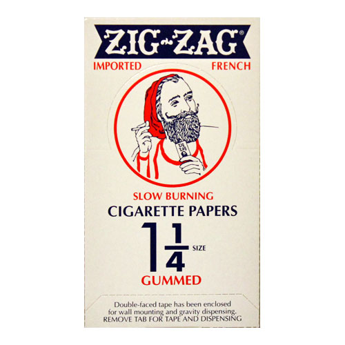 Zig Zag Slow Burn 1 1/4 Size Rolling Papers 24ct Box
