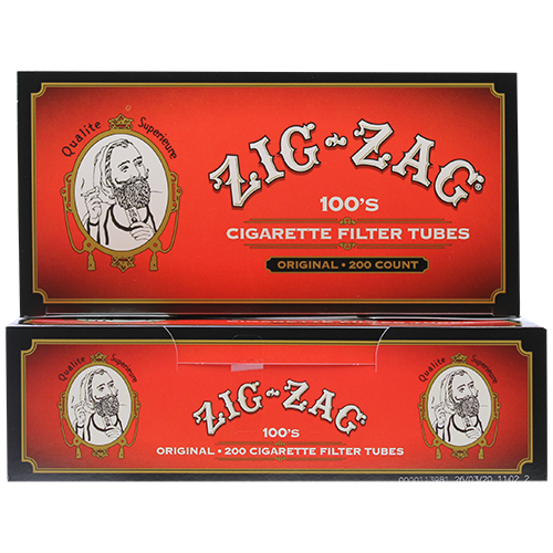 Zig Zag Original 100mm Cigarette Filter Tubes 200ct