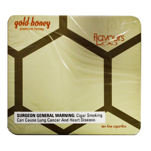 CAO Flavours Gold Honey Cigarillos 10ct Tin