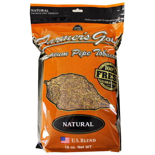 Farmers Gold Natural Pipe Tobacco 16oz