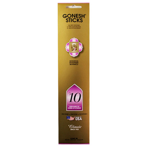 Gonesh Classic Collection No 10 - 20 Stick Pack
