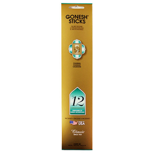 Gonesh Classic Collection No 12 - 20 Stick Pack