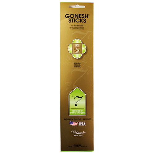 Gonesh Classic Collection No 7 - 20 Stick Pack