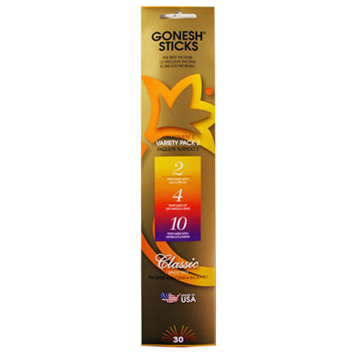 Gonesh Classic Collection Variety Pack No 2 - 30 Stick Pack