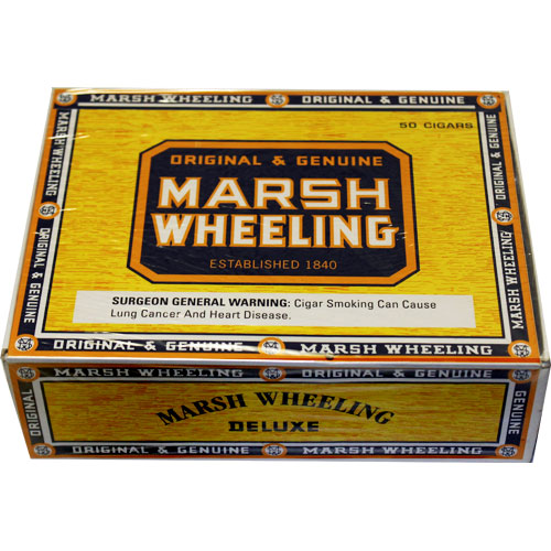 Marsh Wheeling Deluxe Natural 50ct Box