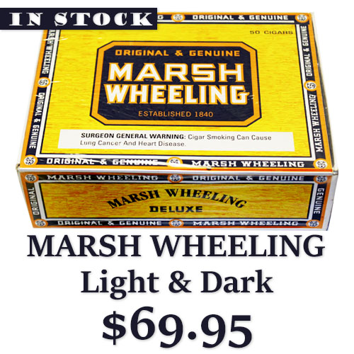 Marsh Wheeling Stogies Are Back
