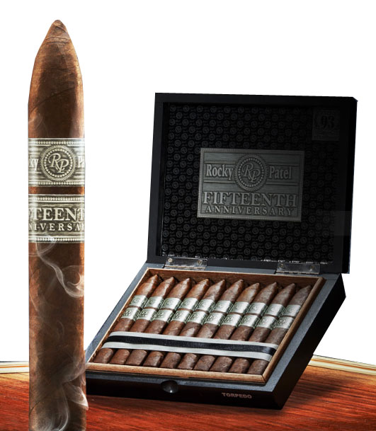 Rocky Patel 15th Anniversary Toro Tubos 10ct Box