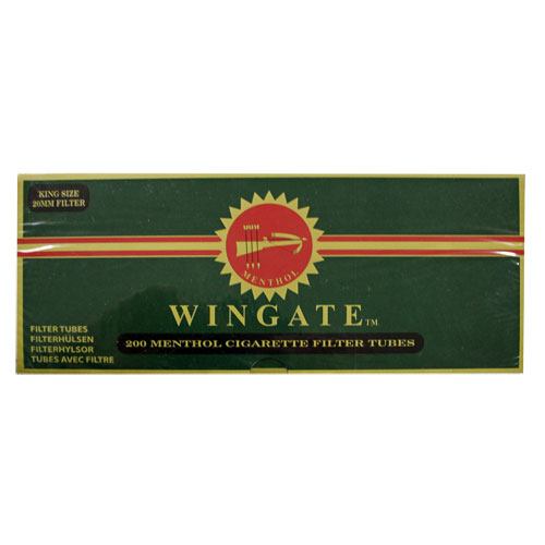 Wingate Menthol King Size Filtered Tubes